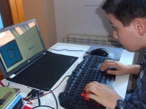 Iago Prieto niño programador
