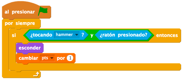 Scratch Room programación