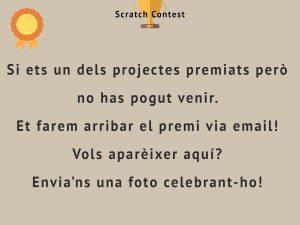 Segon Premi Primaria Scratch Contest