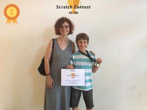 Primer Premi Primaria Scratch Contest